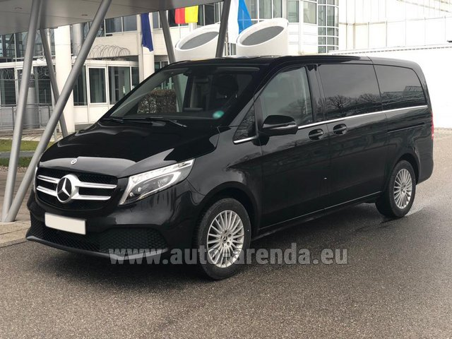 Rental Mercedes-Benz V-Class (Viano) V 300 d 4MATIC AMG equipment in Monaco City