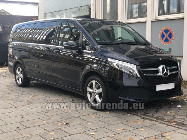 Rental Mercedes-Benz V-Class V 250 Diesel Long (8 seater) in Monaco City