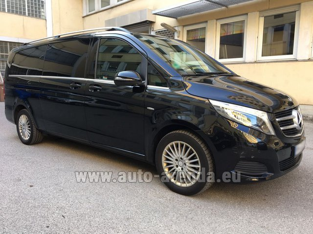 Rental Mercedes-Benz V-Class V 250 Diesel Long (8 seats) in Monaco City