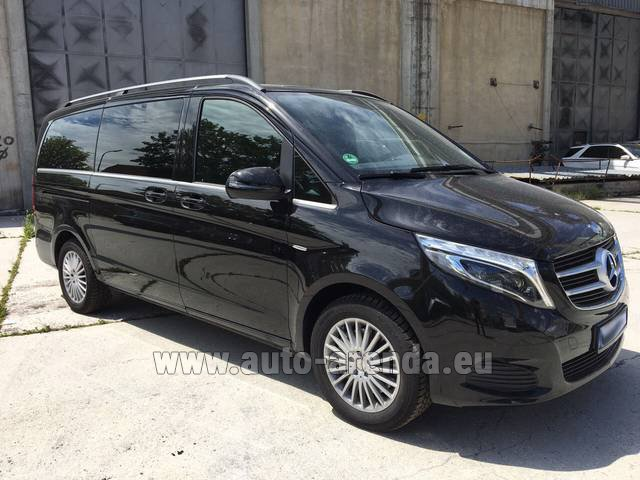 Rental Mercedes-Benz V-Class (Viano) V 250 Long 8 seats in Monaco City