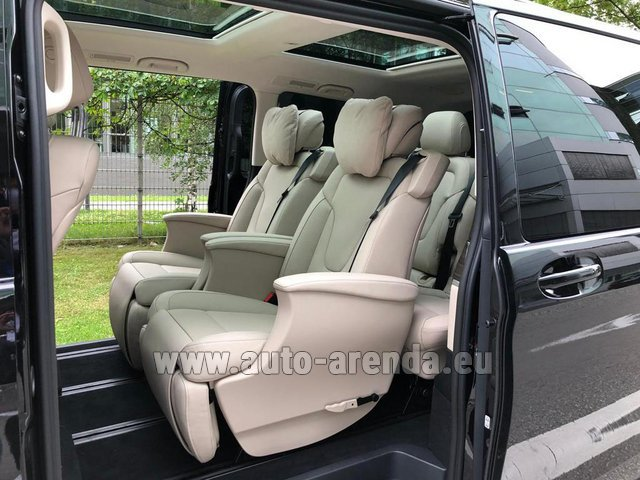 Прокат Мерседес-Бенц V300d 4MATIC EXCLUSIVE Edition Long LUXURY SEATS AMG Equipment в Ла-Кондамине