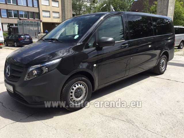 Rental Mercedes-Benz VITO Tourer 116 CDI (9 seats) in Monaco City