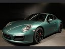 Rental in Monaco the car Porsche 911 991 4S Racinggreen Individual Sport Chrono