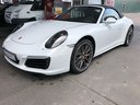 Rental in Monaco the car Porsche 911 Carrera 4S Cabrio White
