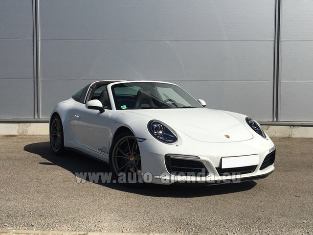 Rental Porsche 911 Targa 4S in Monaco City