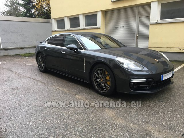 Rental Porsche Panamera Turbo Executive in La Condamine