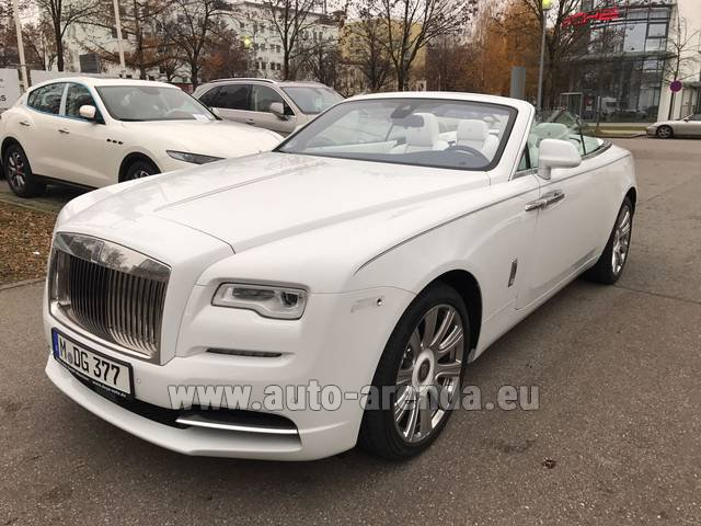 Rental Rolls-Royce Dawn in Monte Carlo