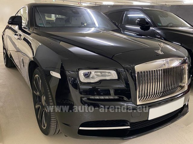 Rental Rolls-Royce Wraith in La Condamine