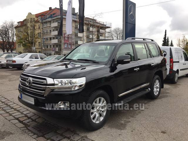 Rental Toyota Land Cruiser 200 V8 Diesel in Monaco