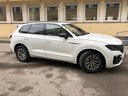 Rental in Monaco the car Volkswagen Touareg R-Line