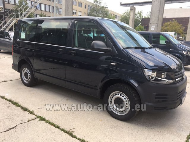 9 Seater Car >> Rent The Volkswagen Transporter T6 9 Seater Car In Monaco