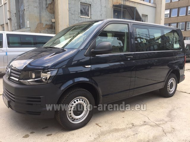 Rental Volkswagen Transporter T6 (9 seater) in Monaco City