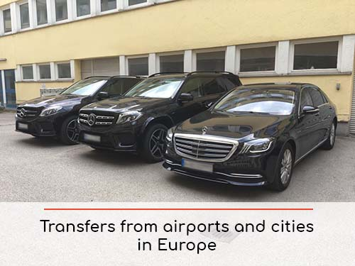 Transfers from airports and cities in Monaco and Europe | Car rental with driver
